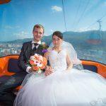 Fotografie de nunta telegondola by Floartgraphy